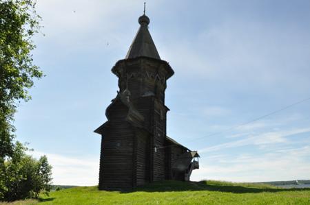 Кондопога. Успенская церковь