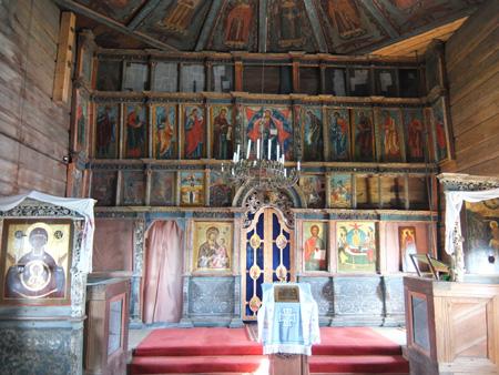 Иконостас Успенской церкви в Кондопоге