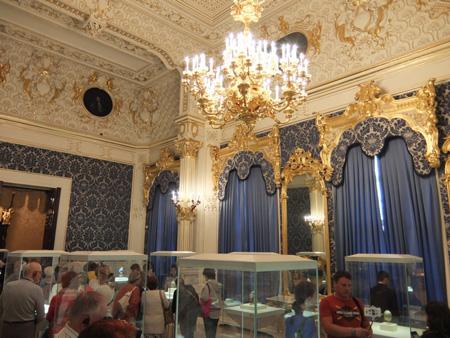 Музей Фаберже. Синяя гостиная
