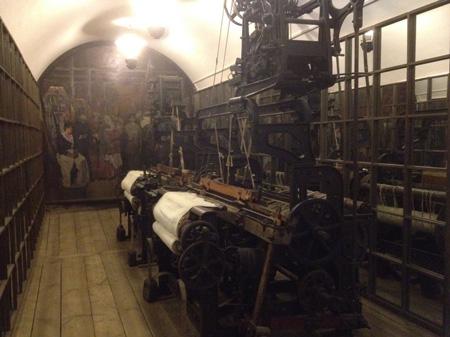 В залах Музея ивановского ситца