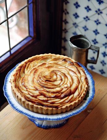 Яблочный пирог открытый рецепты с фото