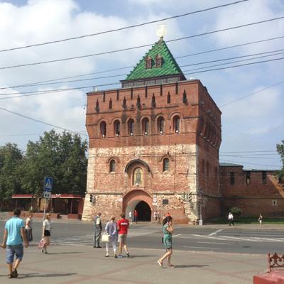 Главная башня Нижегородского Кремля - Дмитриевская