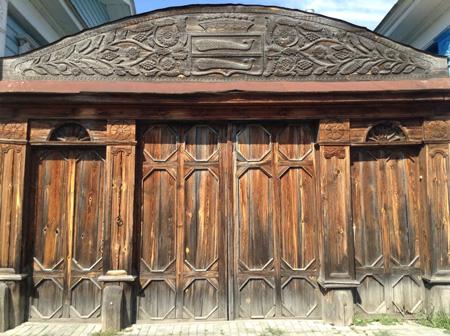 Ворота особняка Паниных
