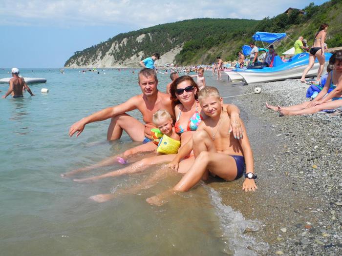 Отдых с детьми на Черном море