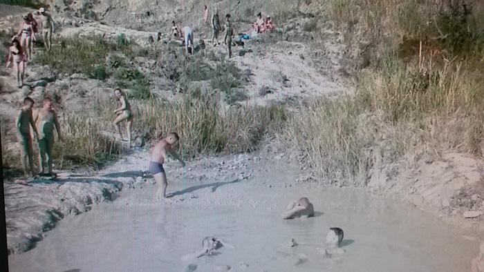 Бухта Инал, лечебная грязь