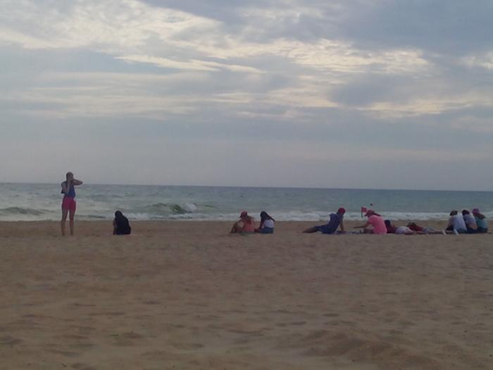 Пляж в Витязево, Анапа