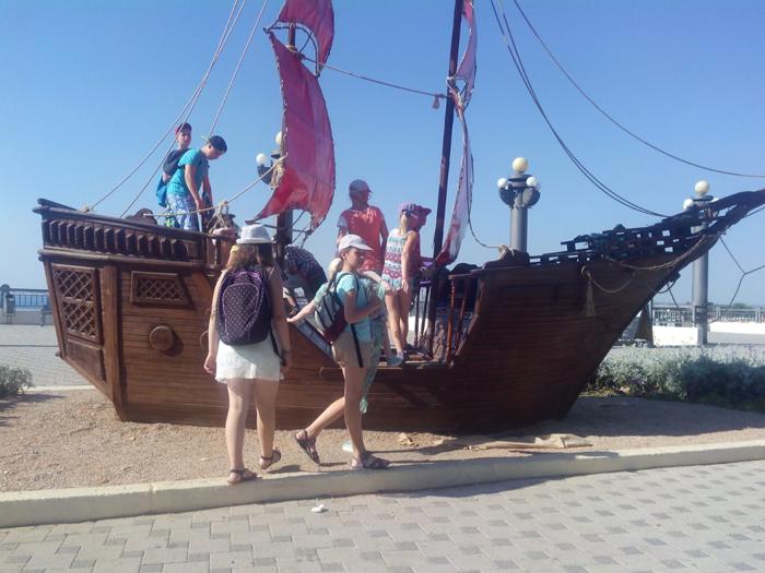 Экскурсия по Анапе в детском лагере ''Жемчужина России''