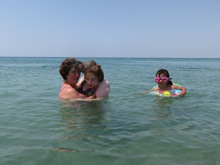 Пляж для маломобильных людей