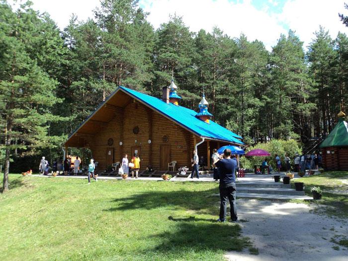 Экскурсия в Чимеево