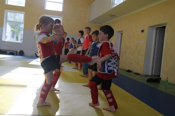 Спортивный лагерь в Крыму