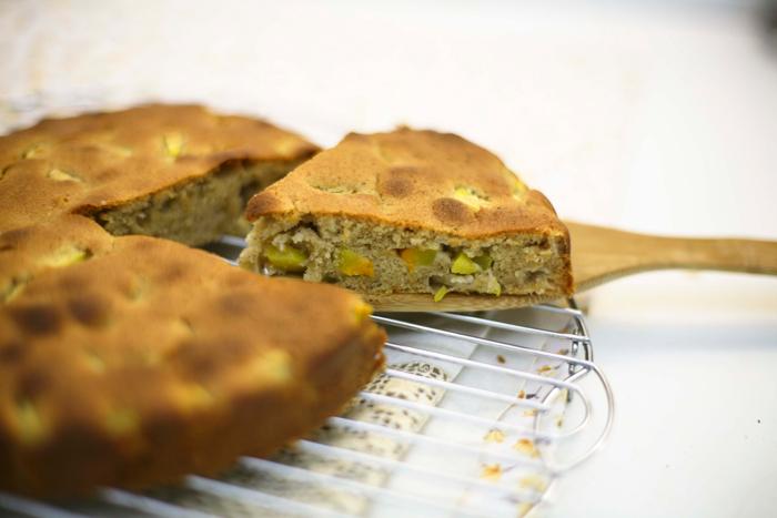 Рецепт кекса с тыквой