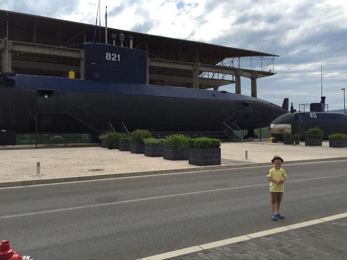 Подводная лодка, Тиват