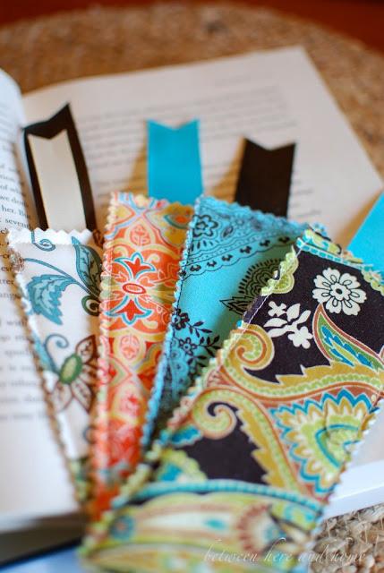 Закладки из ткани для книг своим руками