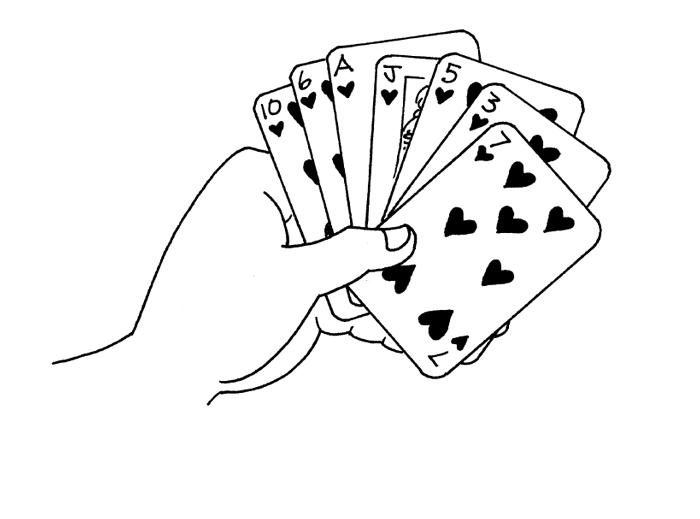 Играть в карты с детьми