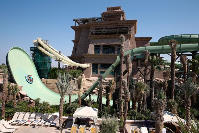 Дубай аквапарк