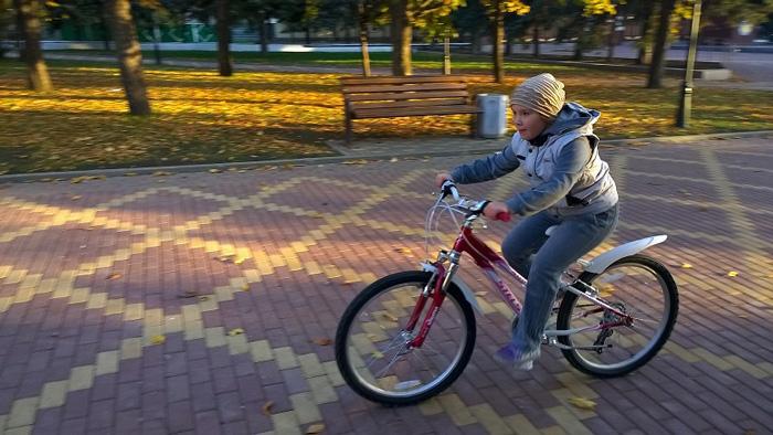 Дочь увлеклась велоспортом