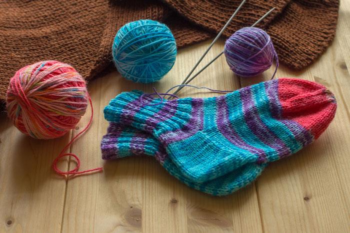 носки спицами вязание носков для начинающих вязание