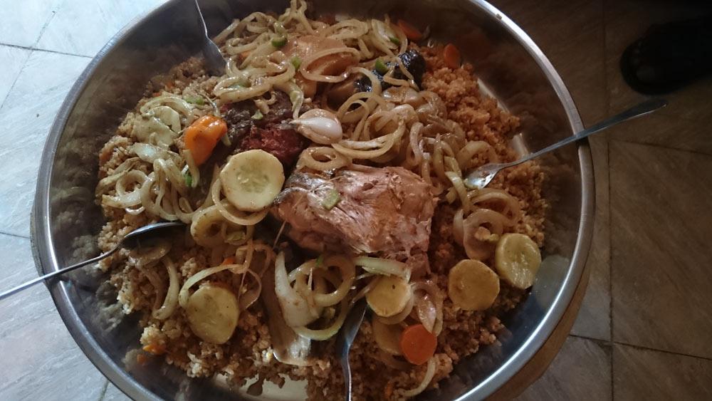 Кухня Гамбии