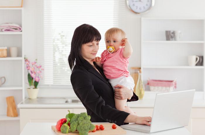 Как совместить семью и работу