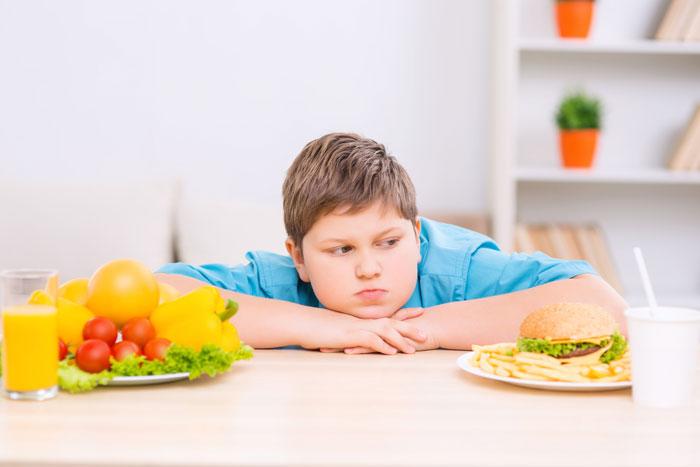 Питание подростка