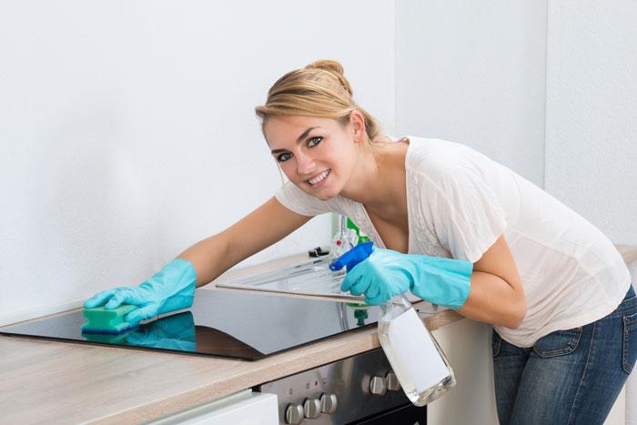 Чистящие средства для плиты
