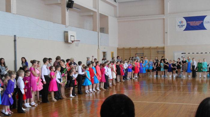 Кружок спортивные бальные танцы