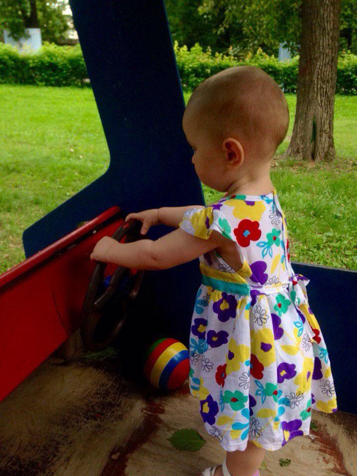 Как ребенок научился ходить