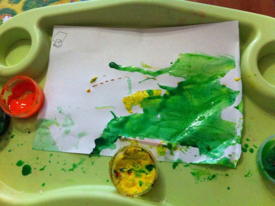Первые детские рисунки