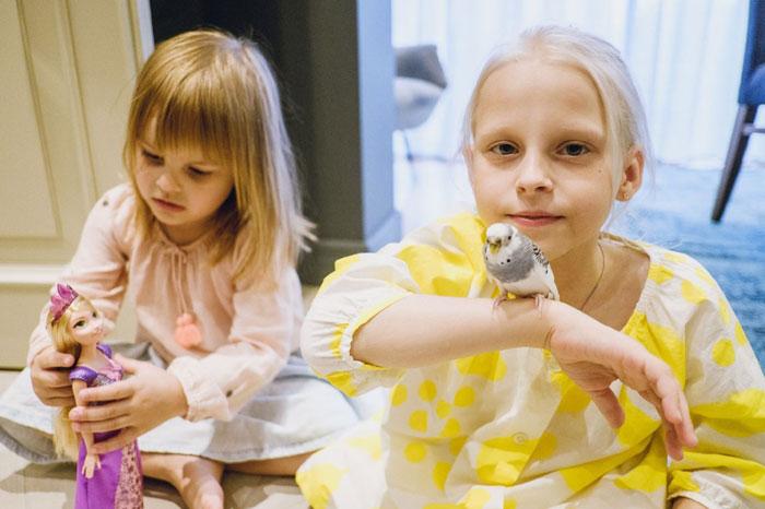 Дочери семьи Семак: Илария и Таня