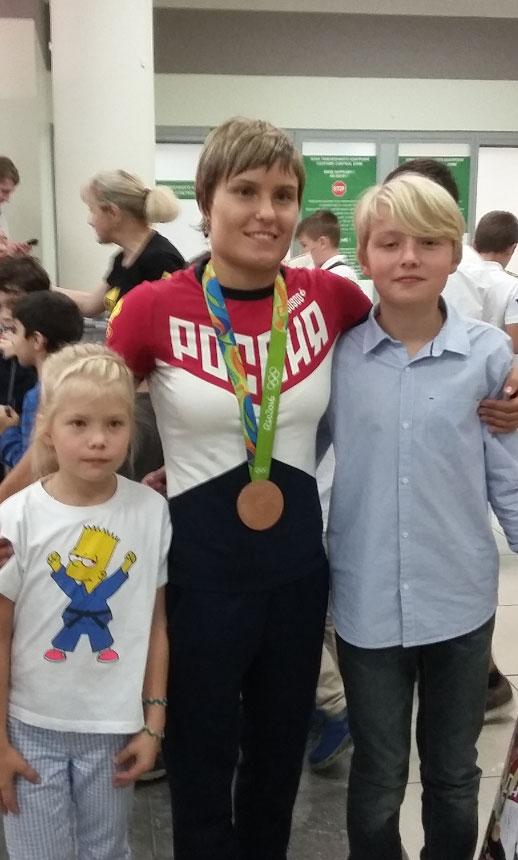 С Натальей Кузютиной