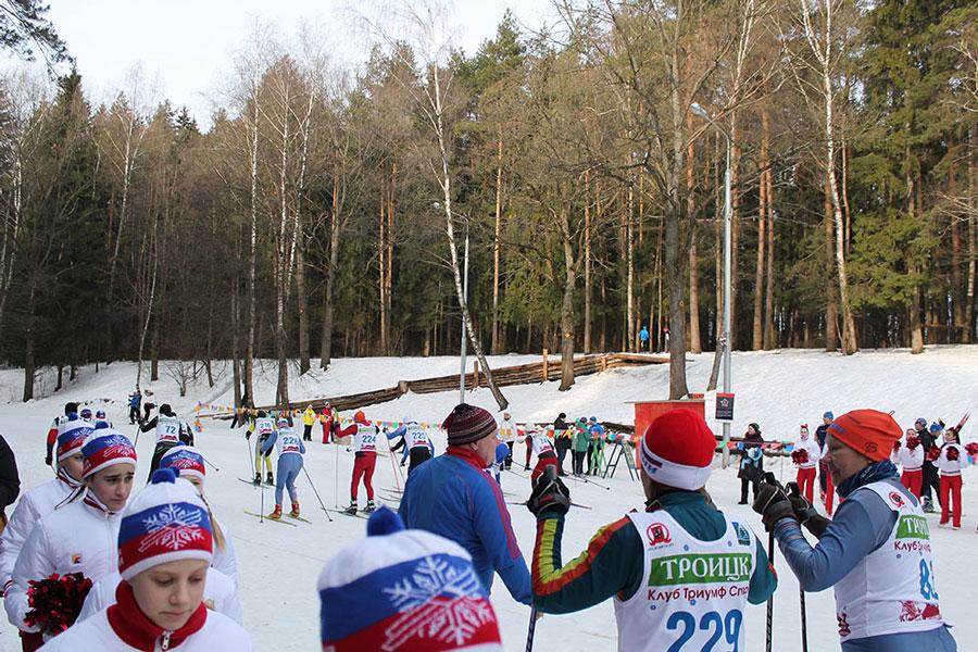 Троицк, лыжная база Лесная