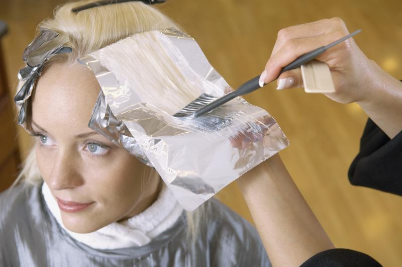 Покрасить осветленные волосы в 9