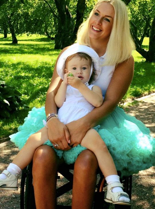 Евгения с дочкой Марусей. Фото: Дарья Кузнецова