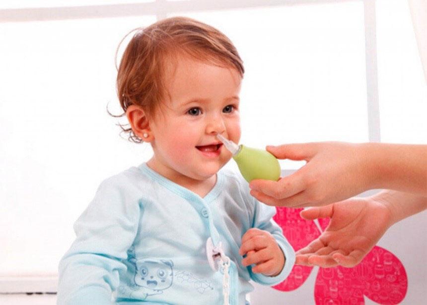 Ребенку 6 месяцев появился насморк что делать