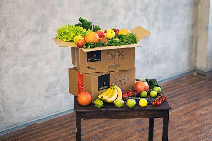 Сервис доставки продуктов Инстамарт