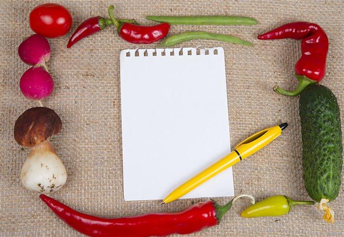 Как составить диетическое меню на неделю