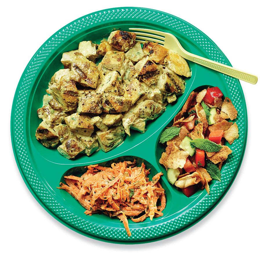 Закуски для пикника: ближневосточная кухня