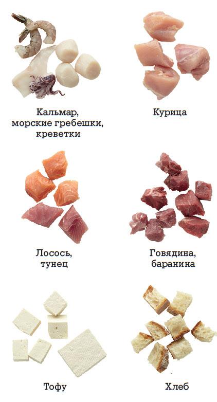 Главные ингредиенты