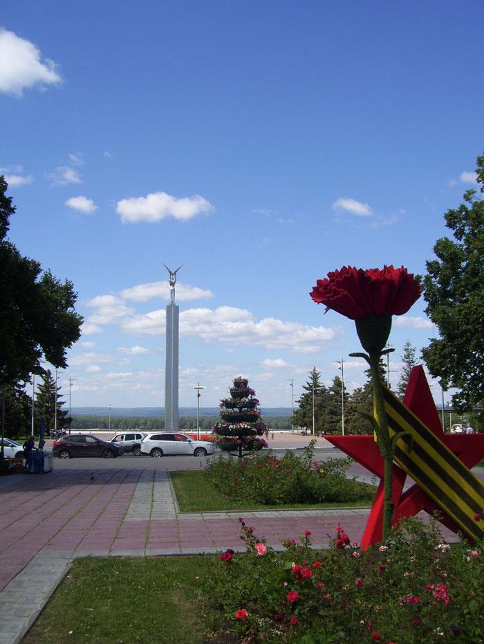 Самара, площадь Славы
