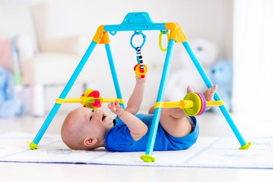 Виды развивающих детских ковриков