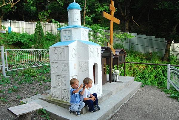 Детский храм упоклонного креста