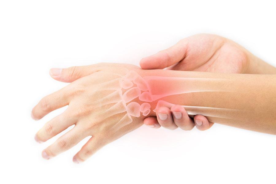 Боли в суставах рук