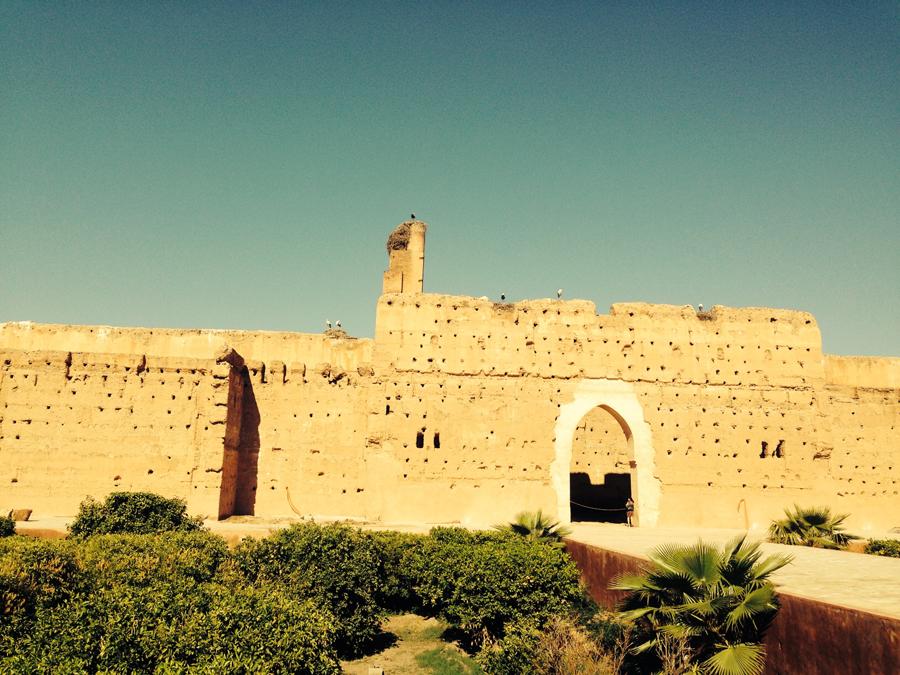 Марракеш, дворец Эль-Бади