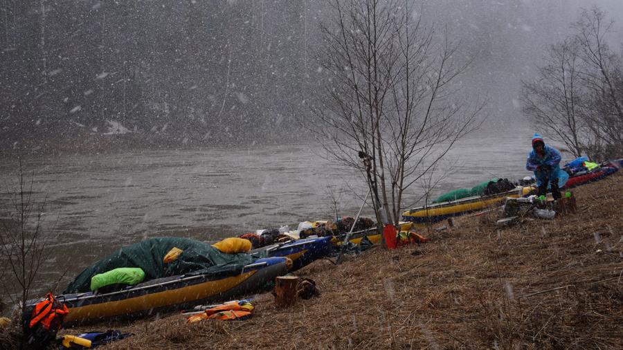 Сплав по реке Чусовой на майские праздники