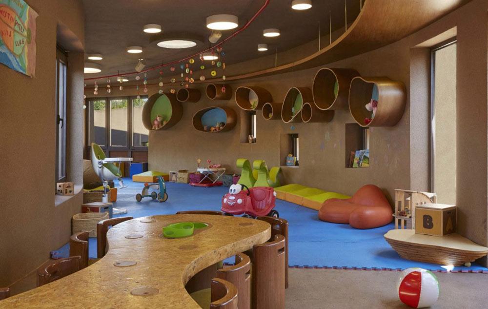 Детские игровые зоны Cocoon иSandCastle