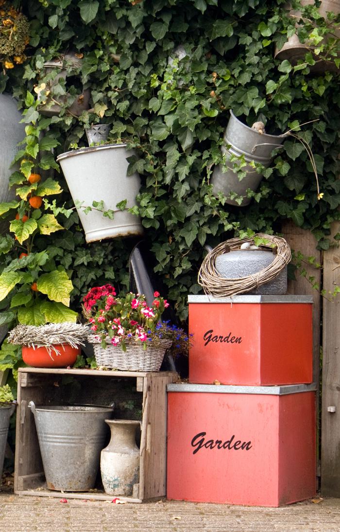 Материал контейнеров для цветов