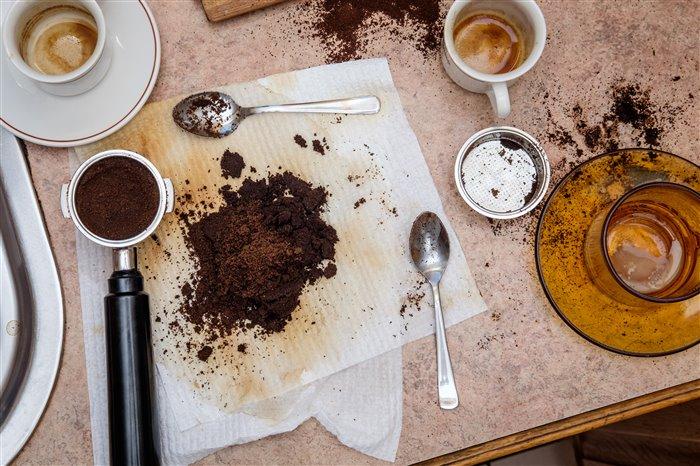 Применение кофейного жмыха