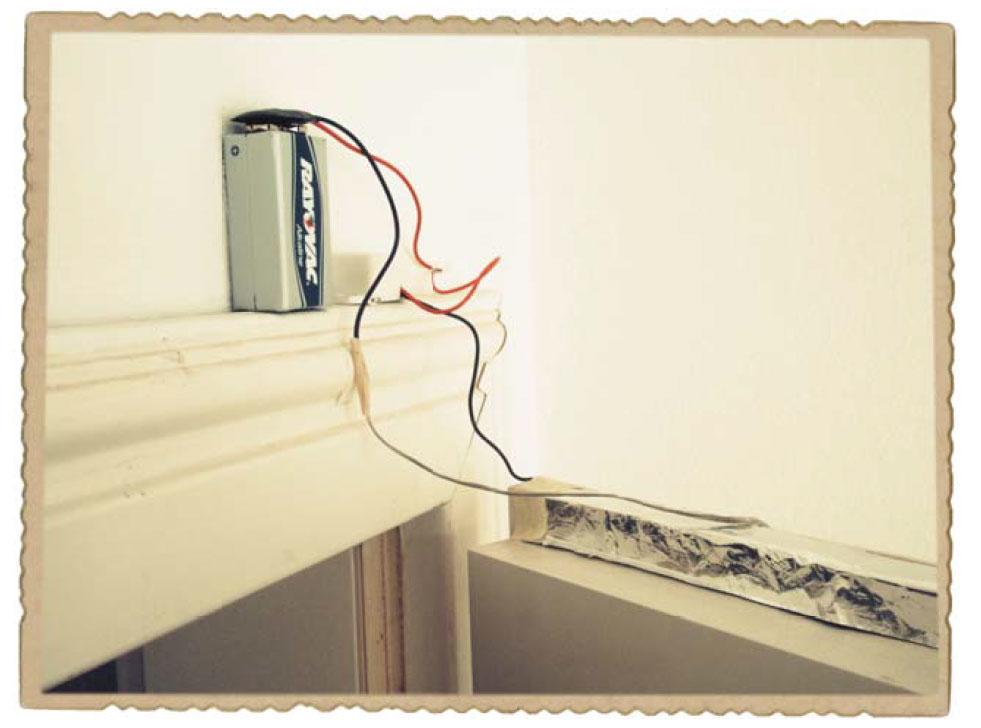 Проект: охранная сигнализаци