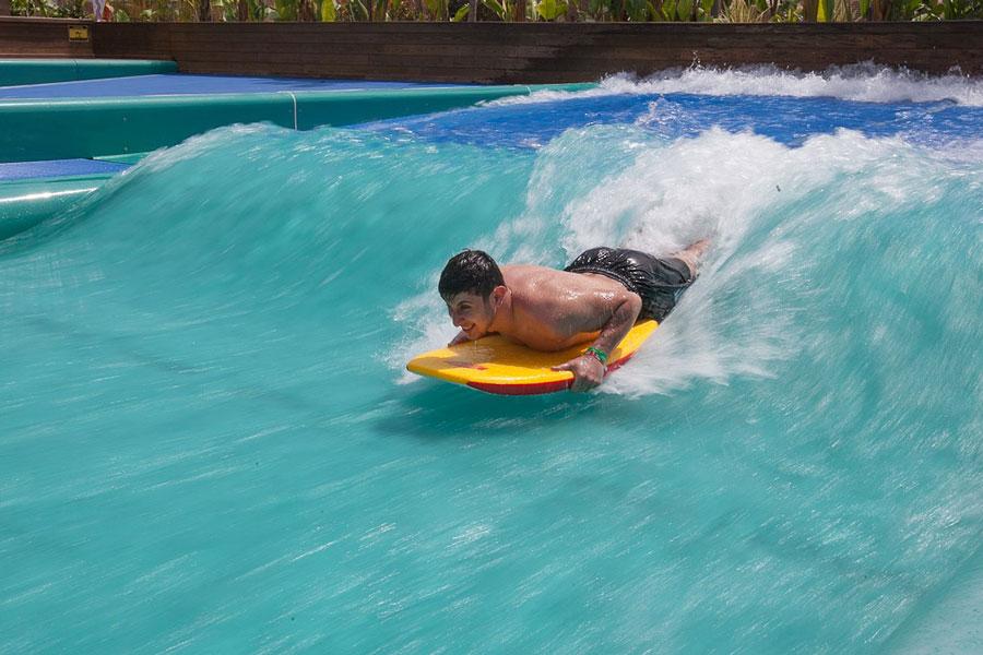 Первые уроки серфинга