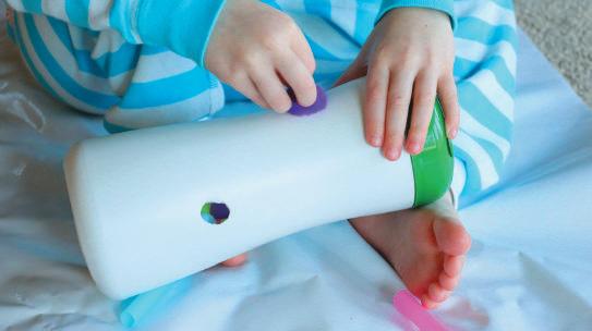 Пожиратель помпонов и соломинок: игрушка для ребенка от 1 года